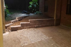 (After) Photo Retaining Wall Hermitage