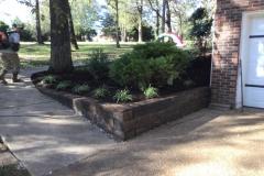 Landscaping-Design-Retaining Wall, Gallatin